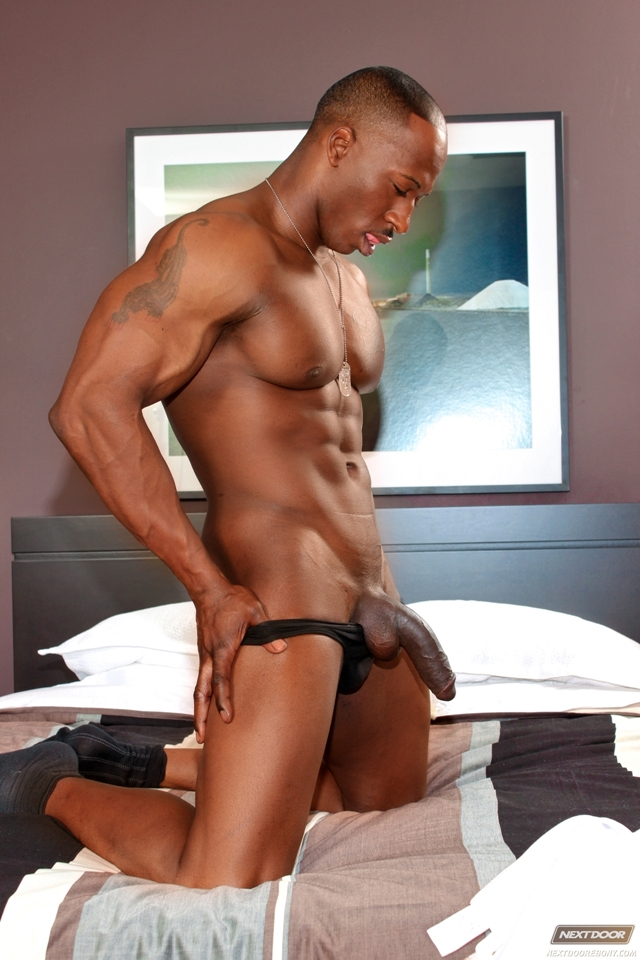 Derek Jackson  Gay Porn Pictures  Videos  Black Muscled -6033