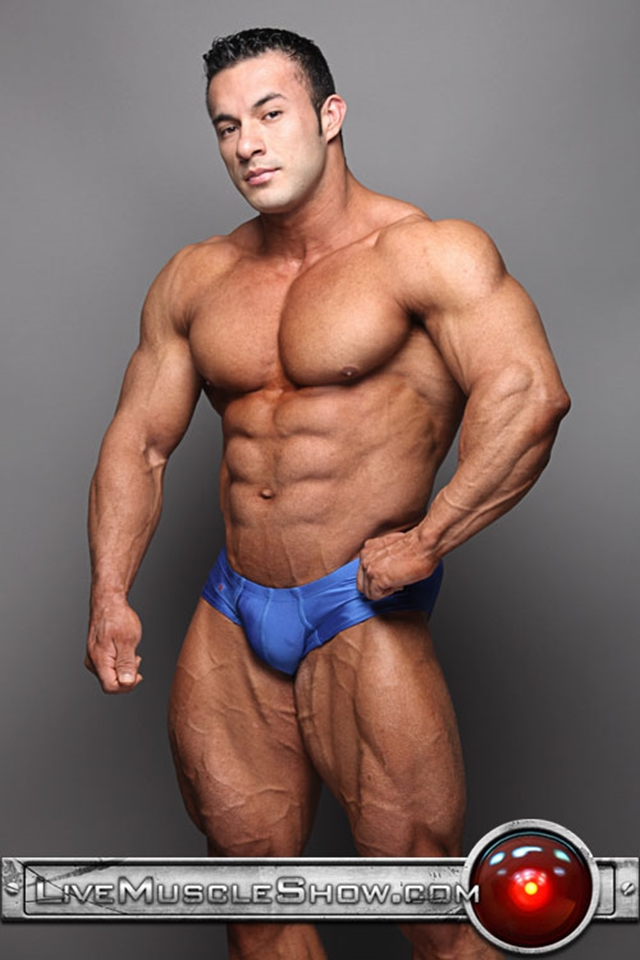 Anton Buttone  Live Muscle Hunk  Gay Porn Pictures  Videos-9325
