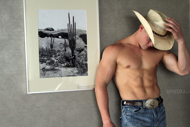 jerk off cowboy dude