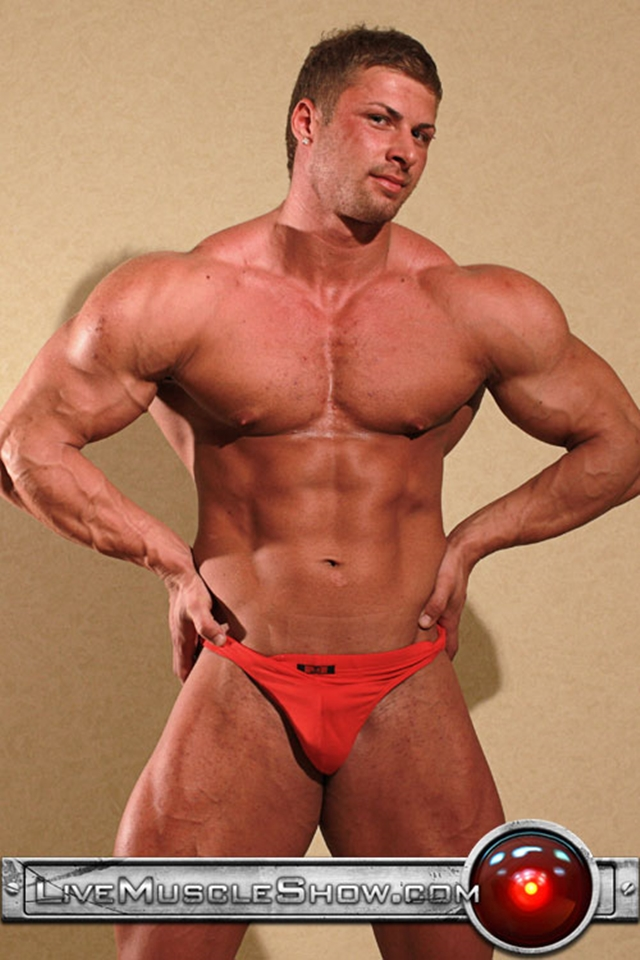 Muscled dude fuck his straight roommate 10