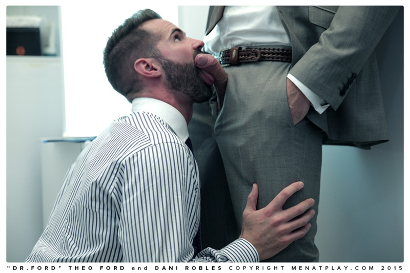 Dr Theo Ford fucks Dani Robles' hairy man hole with his thick cock