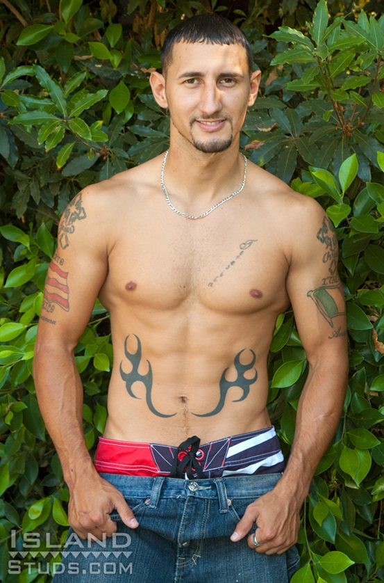 Sexy-Puerto-Rican-Jeno-9-inch-cock-Latin-uncut-biker-shoots-tons-of-cum-01-Ripped-Muscle-Bodybuilder-Strips-Naked-and-Strokes-His-Big-Hard-Cock-photo-image