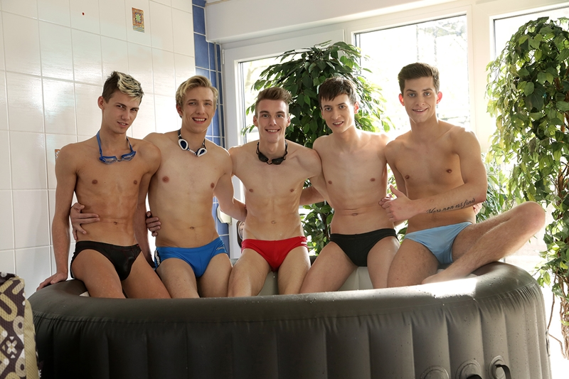 Brad Fitt, Jace Reed, Mike James, Ryan Olsen and Sven Laarson