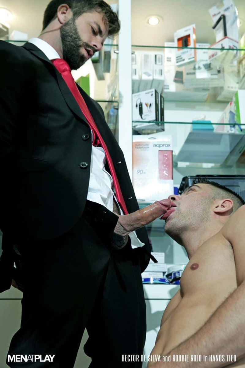 MenatPlay-suited-sex-Robbie-Rojo-sexual-favours-Hector-de-Silva-horny-thick-uncut-Spanish-dick-tongue-deep-rimming-smooth-ass-hole-fucking-14-gay-porn-star-sex-video-gallery-photo