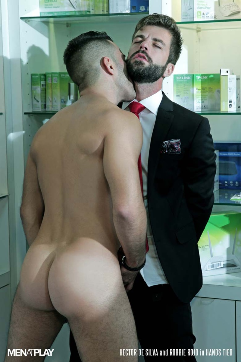 MenatPlay-suited-sex-Robbie-Rojo-sexual-favours-Hector-de-Silva-horny-thick-uncut-Spanish-dick-tongue-deep-rimming-smooth-ass-hole-fucking-15-gay-porn-star-sex-video-gallery-photo