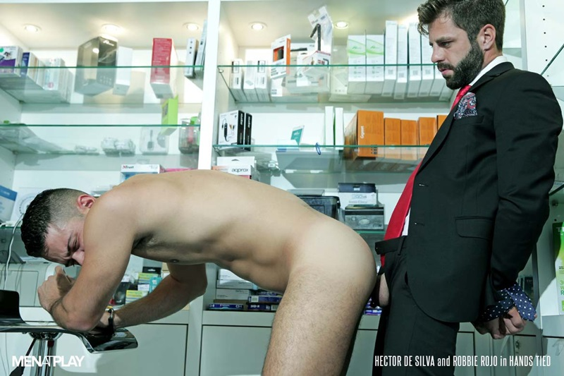MenatPlay-suited-sex-Robbie-Rojo-sexual-favours-Hector-de-Silva-horny-thick-uncut-Spanish-dick-tongue-deep-rimming-smooth-ass-hole-fucking-24-gay-porn-star-sex-video-gallery-photo