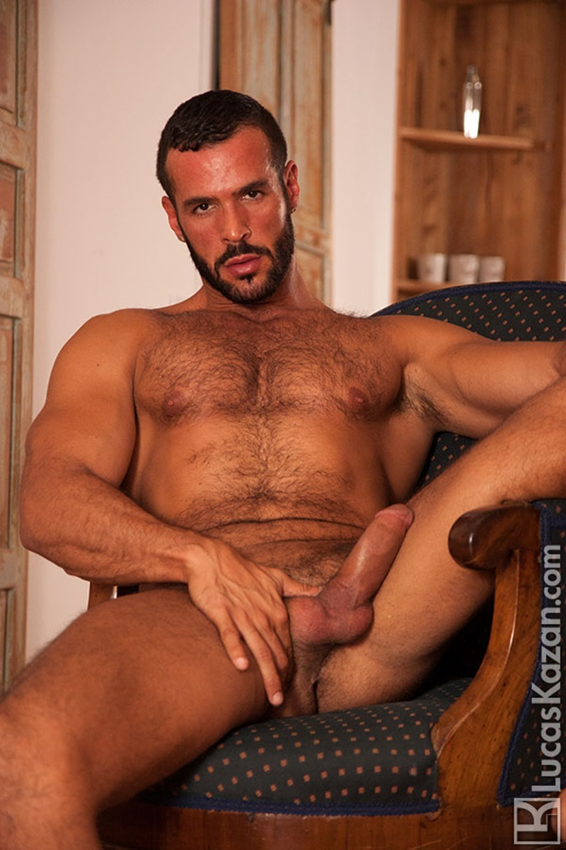 Swarthy Hairy Chested Spaniard Denis Vega  Dirty Dude Blog-2359