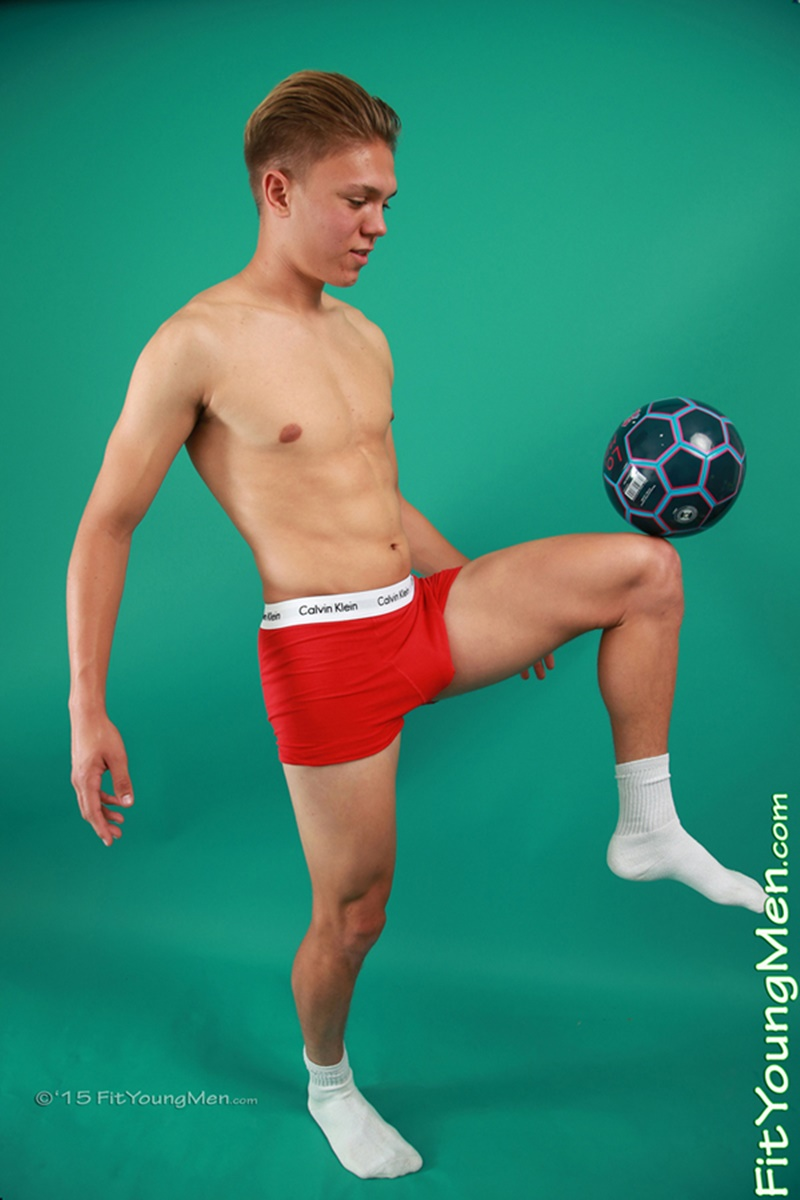 Sexy Young 18 Year Old Footballer Fraser East Strips To -2779