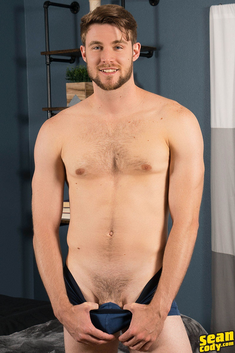 Chastity male pubes shaved