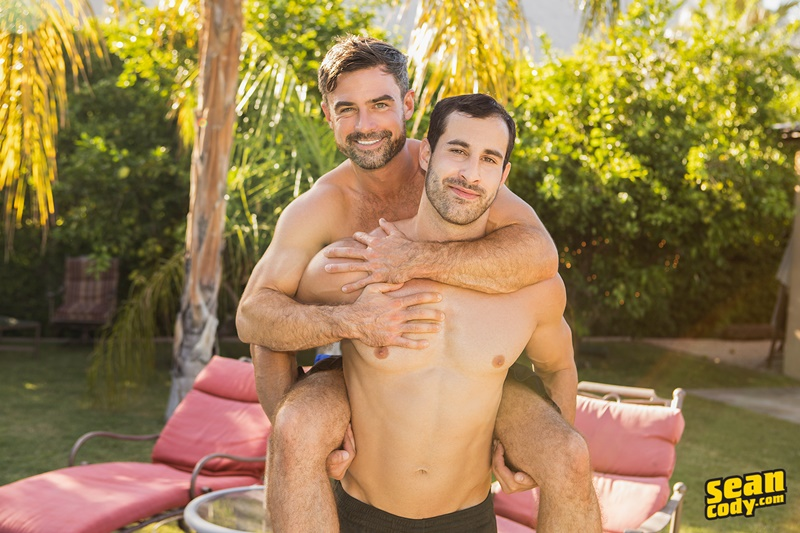 Sean Cody Randy bareback fucks Daniel's smooth muscled raw bubble butt