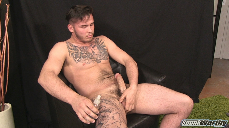 Sexy young rock hard hunk Lewis strips naked jerking big cock massive cum load 006 gay porn pics - Sexy young rock hard hunk Lewis strips naked jerking his big cock to a massive cum load