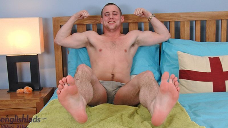 Straight young British dude Ned Dunning big uncut cock manhandled happy ending massage 006 gay porn pics - Straight young British dude Ned Dunning gets his big uncut cock manhandled with a happy ending massage