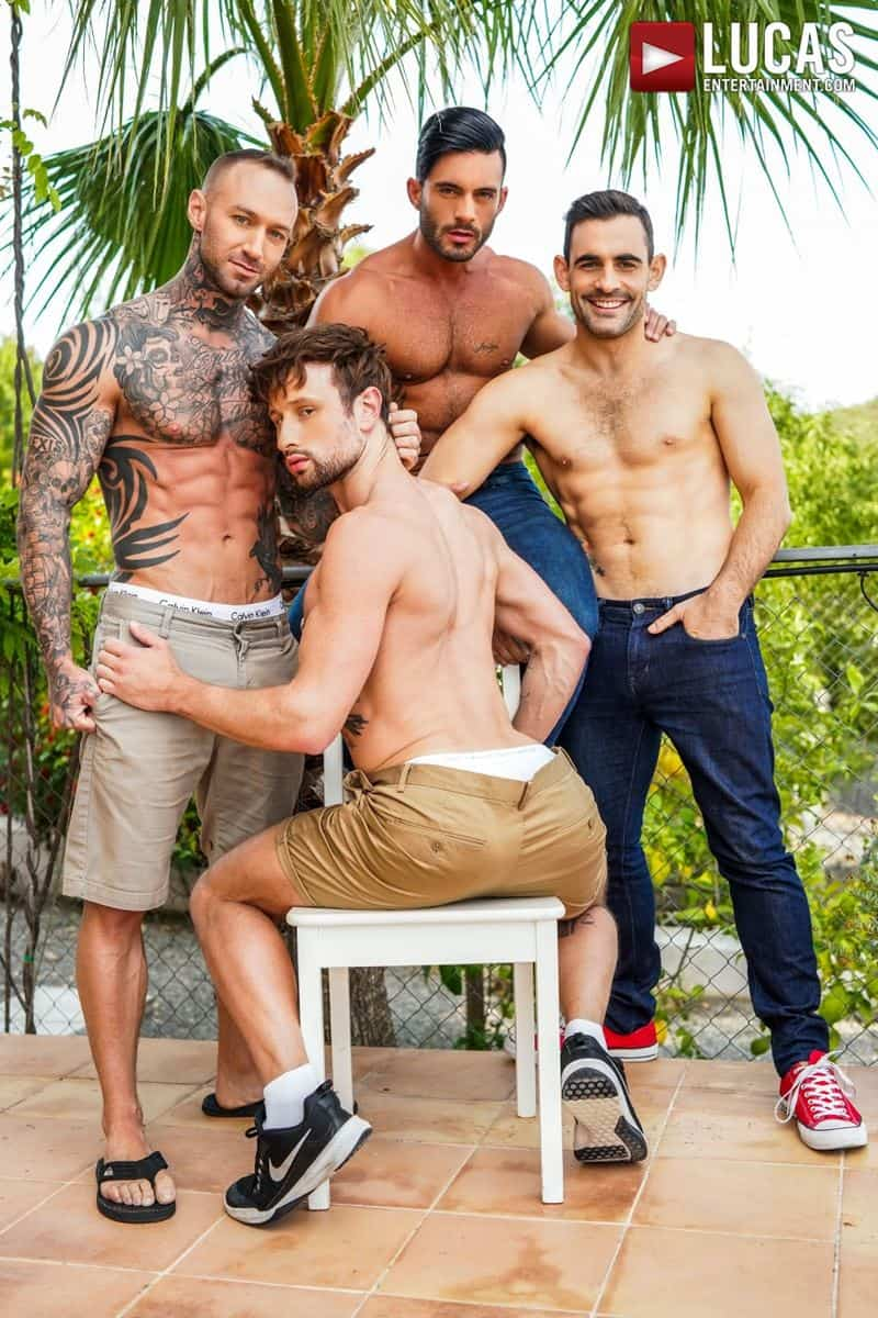 Hardcore barebacking foursome Andy Star Drew Dixon Dylan James Max Arion big muscle raw dick fucking 003 gay porn pics - Hardcore barebacking foursome Andy Star, Drew Dixon, Dylan James and Max Arion big muscle raw dick fucking