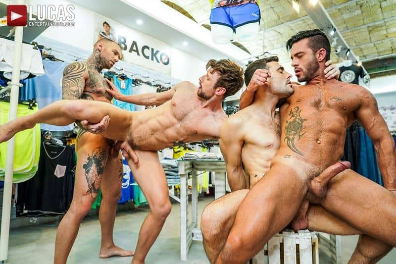 Hardcore barebacking foursome Andy Star Drew Dixon Dylan James Max Arion big muscle raw dick fucking 014 gay porn pics - Hardcore barebacking foursome Andy Star, Drew Dixon, Dylan James and Max Arion big muscle raw dick fucking