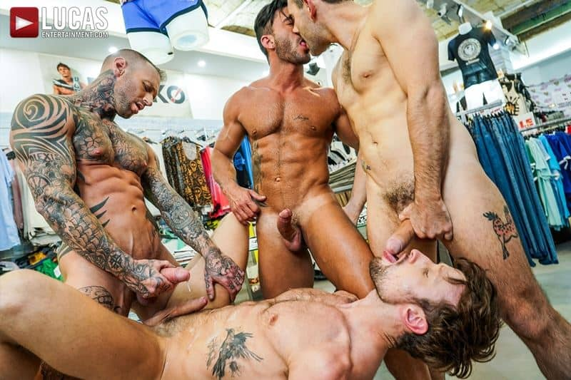 Hardcore barebacking foursome Andy Star Drew Dixon Dylan James Max Arion big muscle raw dick fucking 017 gay porn pics - Hardcore barebacking foursome Andy Star, Drew Dixon, Dylan James and Max Arion big muscle raw dick fucking