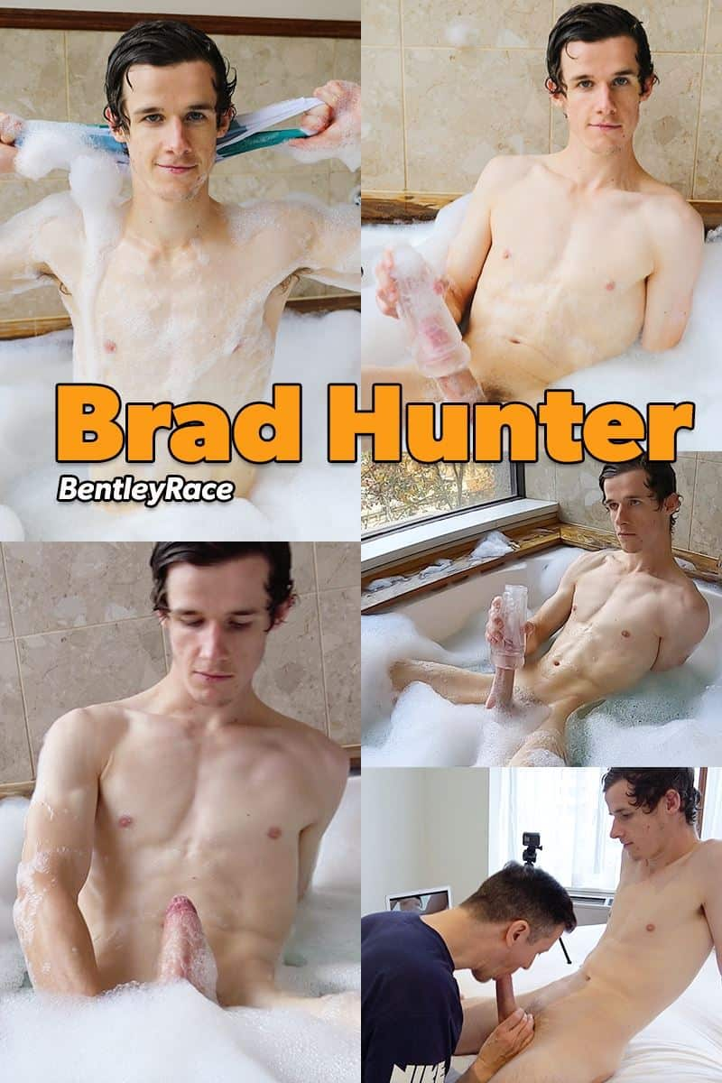 Hottie young stud Brad Hunter hot tub big thick cock wank blowing cum all over himself 028 gay porn pics - Hottie young stud Brad Hunter's hot tub big thick cock wank blowing cum all over himself