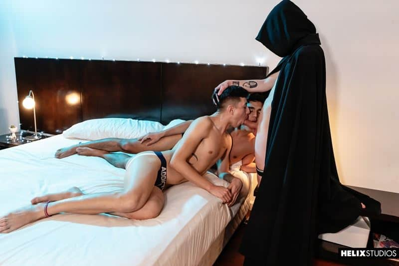 El Maestre forces young Latino twinks Felix Harris Jack Moon flip flop anal fucking 001 gay porn pics - El Maestre forces young Latino twinks Felix Harris and Jack Moon flip flop anal fucking
