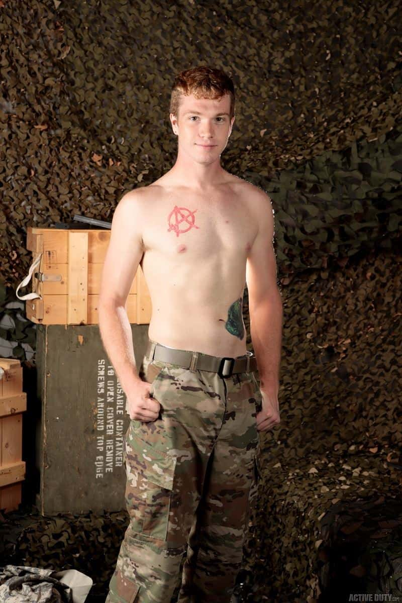 Hot ginger army boy Dacotah Red bareback fucks new recruit Tyler Lakes tight raw ass 010 gay porn pics - Hot ginger army boy Dacotah Red bareback fucks new recruit Tyler Lakes's tight raw ass