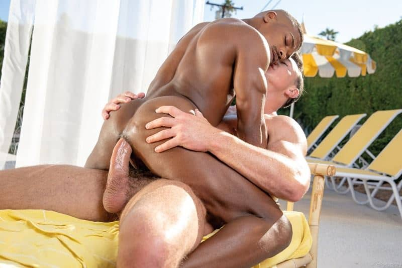 Hot black stud Adrian Hart tight bubble ass bare fucked muscle hunk Cade Maddox huge thick dick 013 gay porn pics - Hot black stud Adrian Hart's tight bubble ass bare fucked by muscle hunk Cade Maddox's huge thick dick